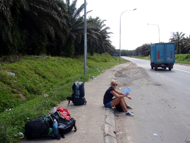 busminiä odotellessa