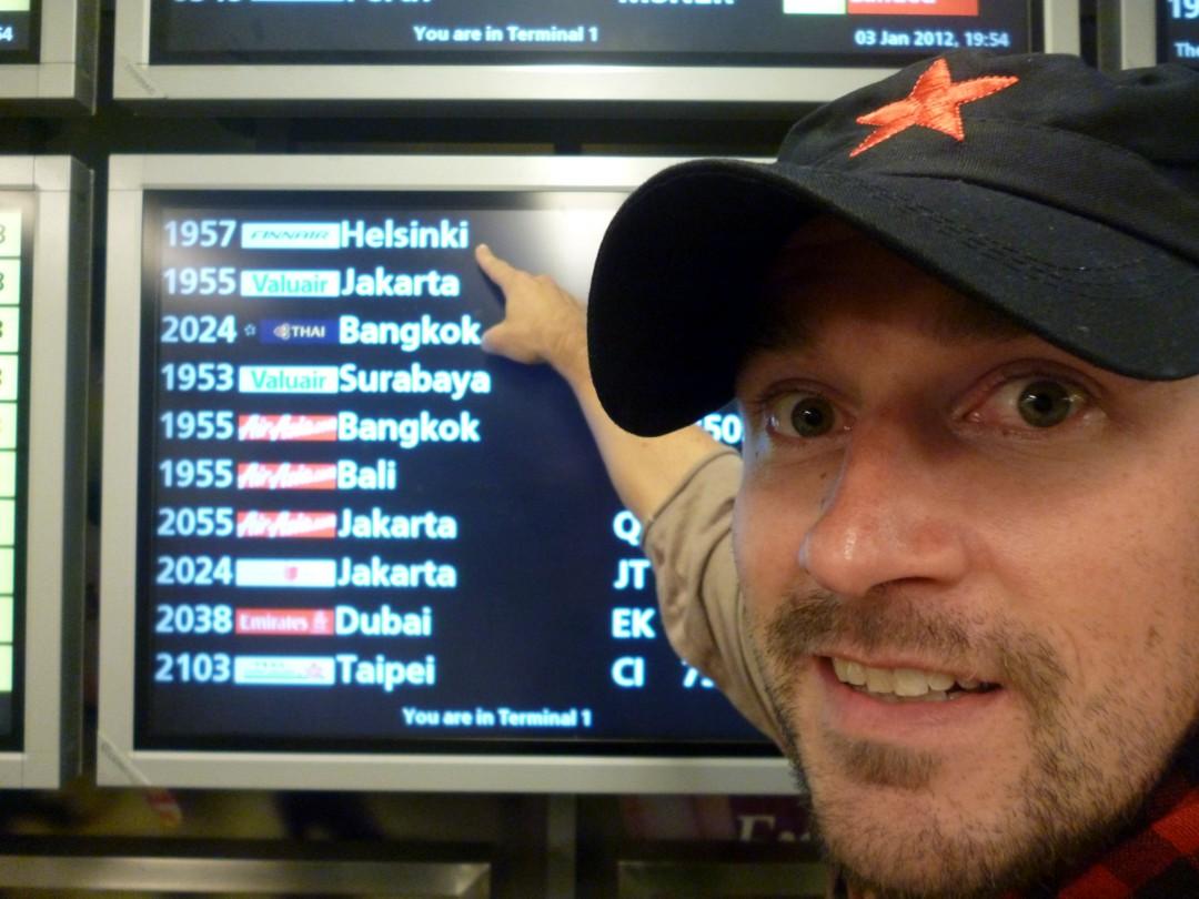 Lento Helsinkiin ...mutta ei meidän!